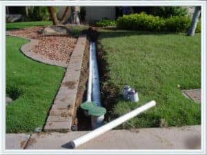 Backyard Drain yard drains | speedway plumbing houston texas