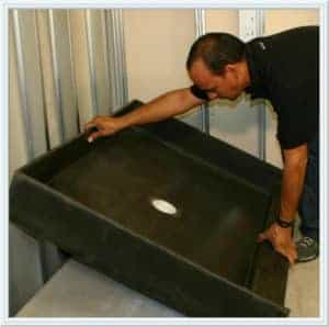 installing a shower pan Houston