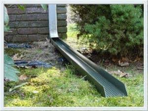 downspout drainage Houston
